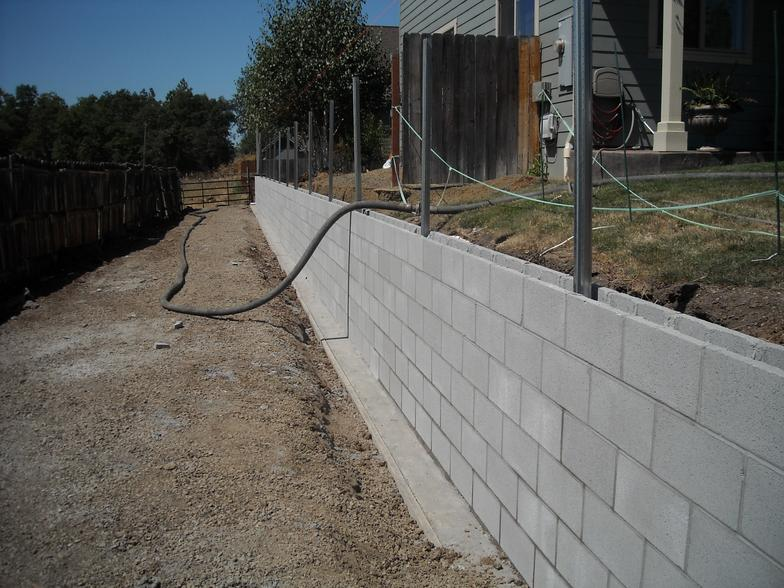 Decorative Concrete Block Retaining Wall Images